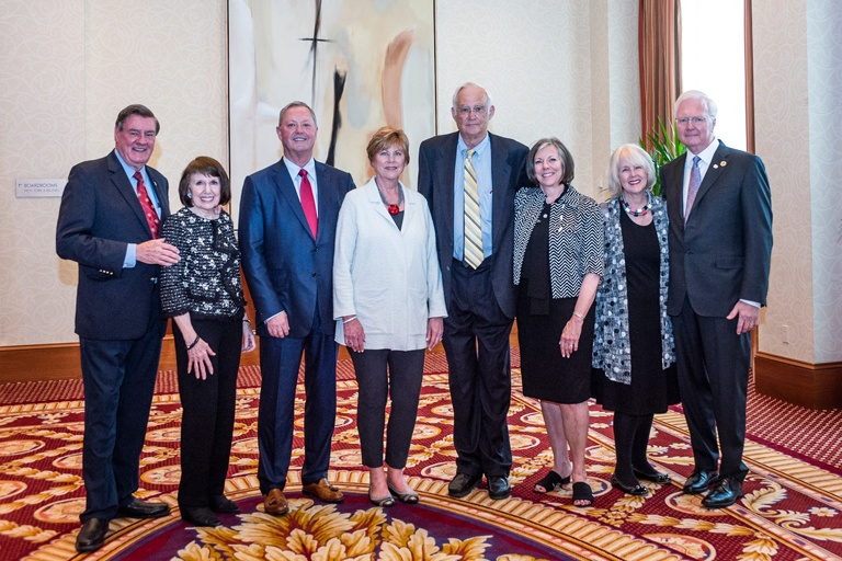 IU Foundation's Partners in Philanthropy 2019 awardees